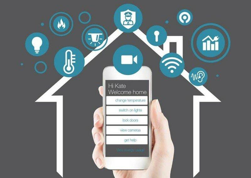 Управление системой «Умный дом» с помощью iPhone